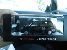 JPN TAXIのミニカーは高かった😱☀️