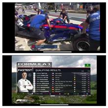 F1オーストリアGP予選。