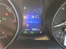 無給油1000km!!