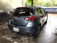 【台風が近づいていますが...】今日も洗車~~。