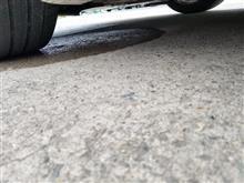 電気自動車から滴る水
