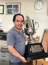 鈴鹿8時間耐久レースの優勝カップの修理