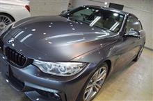 「見惚れる程、美しい」BMW 428iのガラスコーティング【リボルト松本】