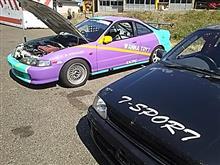 間瀬サーキット ラジアル6時間耐久レース &ガレージ整備