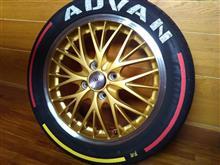 タイヤサイド塗装 2