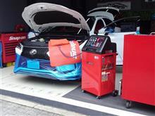 レクサスRXにワンランク上の冷房能力を「スナップオン/エアコンサービスステーション」他