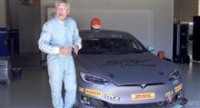 テスラモデルSのレースカー