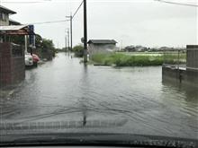 近所の道路が広くなったよ。
