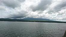 長池親水公園から富士山を・・・