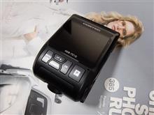 ポルシェマカン、ドライブレコーダー(コムテックHDR-751G)の取り付け方