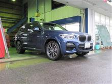 黒い悪魔にさようなら...BMW X3 G01 ブレーキパッド交換 クランツ製ジガ