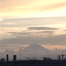 今日の富士山。18,7,8