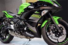 『軽快且つエキサイティングな走りが楽しめる』カワサキ・Ninja 650 KRT Edition のガラスコーティング【リボルト札幌】