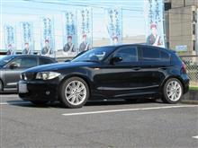 メンテナンスは大事...BMW E87 130 エンジンオイル+エレメント交換