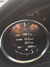 6,000km  2週間