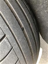 BMW X3 脱ランフラットタイヤ