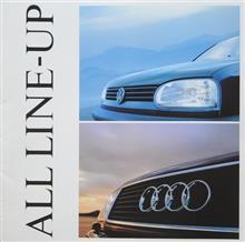 VW&アウディ総合カタログ【1993年11月発行】