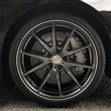 RS3 Sportbackのセラミックディスクブレーキ