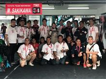 INDONESIA SENTUL SERIES OF MOTORSPORT 2018R3、Indonesia Touring Car 1600 Max決勝日