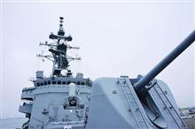 仙台港で護衛艦を見学。(^_^)/