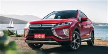 "Mitsubishi Eclipse Cross TV-CM "" Here now for wherever next "" : Australia ・・・・"