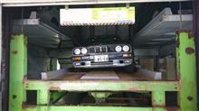 流星号(BMW E30 320i)の終焉