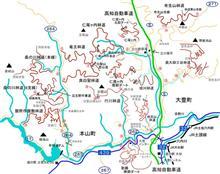 竜王林道、仁尾ケ内林道