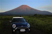 富士山は涼しい 今朝18度