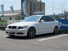 車内の消臭除菌...BMW E90 ヘラー エヴィディス 消臭剤がモクモク