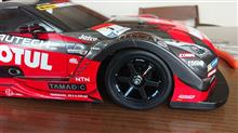 R35 GTR with TT-02 Shassis Shaft drive 4WD