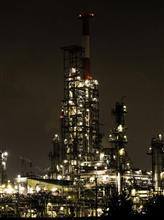 愛車×工場夜景