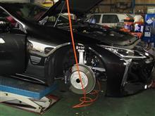 ちょいと車高を...レクサスLC500 RS-Rサスペンション+ディクセル タイプM