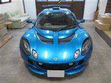 ロータス エキシージ シリーズ2 GTウィング付き、採寸&装着確認(完成)