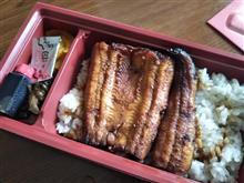 うなぎ弁当とワンタン麺