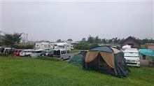 能代河畔公園キャンプ ナウ!