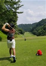 灼熱のゴルフを終えて…