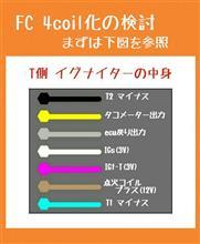 FCの点火システム現代化の検討 ~4coil化~