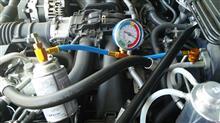 BRZのエアコンのガスチャージ