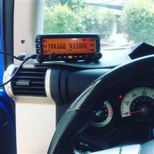 アマチュア無線モービル機FTM-350AH APRS運用