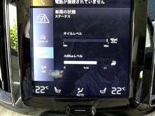 XC60 D4モデルのAdBlueの消費量