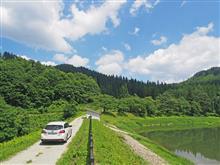 山形県米沢市簗沢(杉沢溜池)