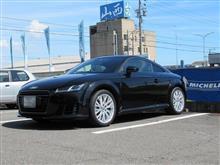 黒い悪魔にさようなら...AUDI 8S TT ブレーキパッド交換 クランツ製ジガ