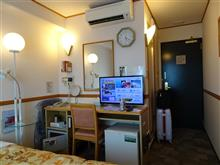 本日のお宿は? 熊本市でこれから4泊。 高い所が好きなのは〇〇?