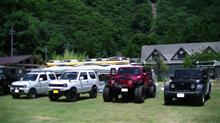 4WDshop主催のキャンプに参加させて頂きました。楽しかったです(笑)