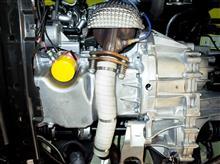 FF車両の 「オイルパン まわりの断熱」 には、エキゾースト バンテージ が オススメ!