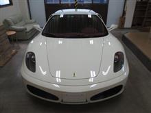 フェラーリ F430、採寸&装着確認(完成)