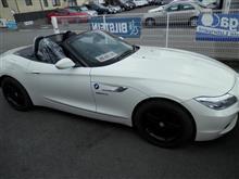 BMW Z4 フットランプ取付