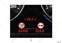 031 【BMW Genuine Speed Limit Info Retrofit BMW純正制限速度情報】