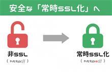 ★安心安全にもう一歩。常時SSL化しました★