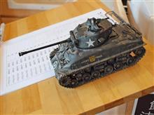 モーニングオフ会と映画「フューリー」のM4戦車